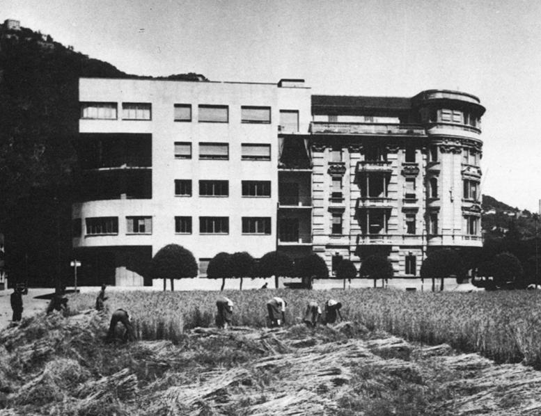L'autarchica battaglia del grano nel giungo del 1943.